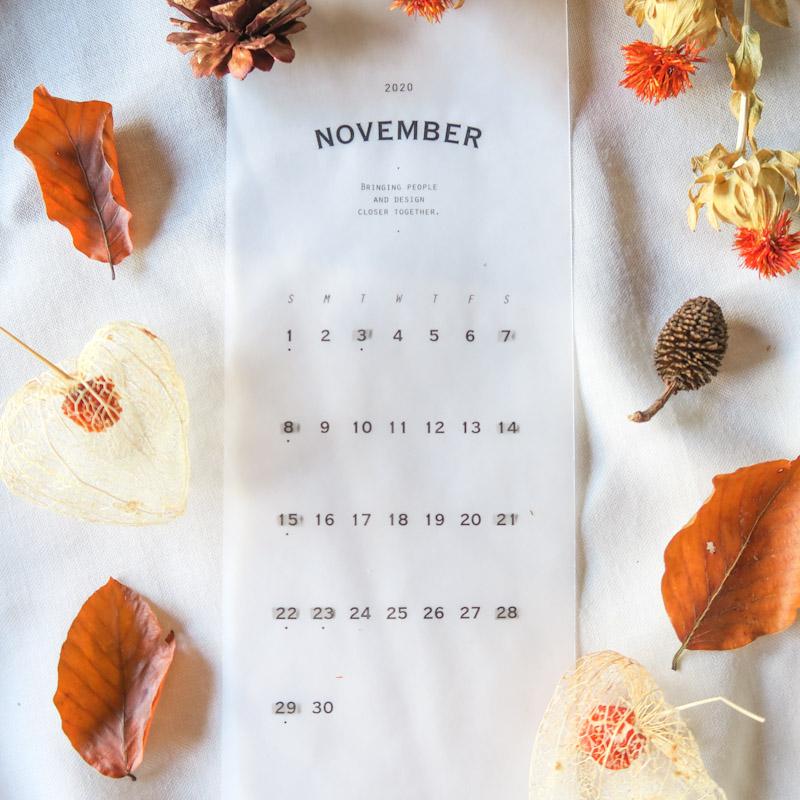 Florilegeの11月レッスン日